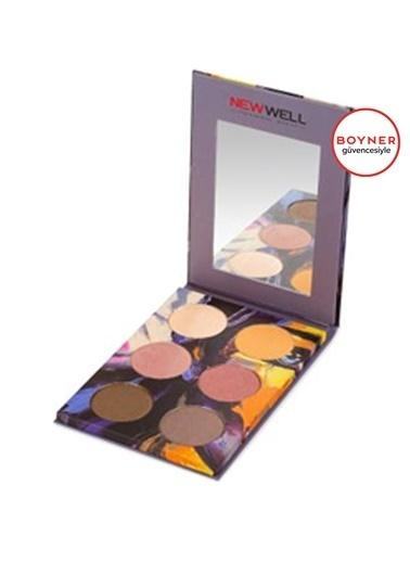 New Well New Well Autumn Eyeshadow (Mor) 6'lı Göz Farı Mor